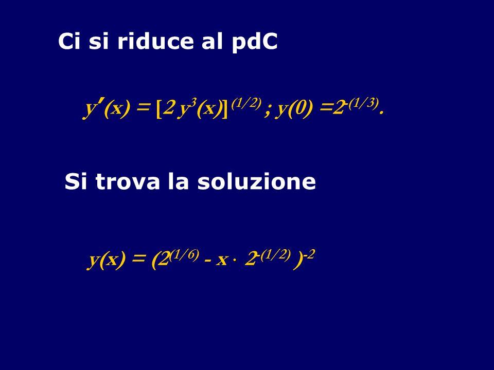 y'(x) = [2 y3(x)](1/2) ; y(0) =2-(1/3).